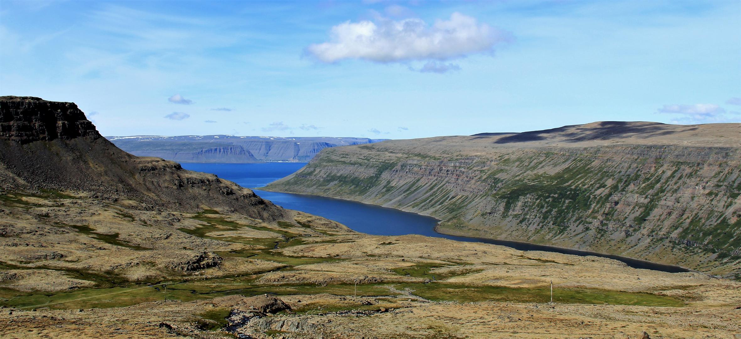 Einsame Westfjorden