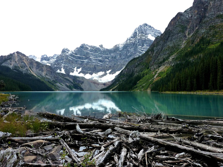 Einsamer Chefren Lake