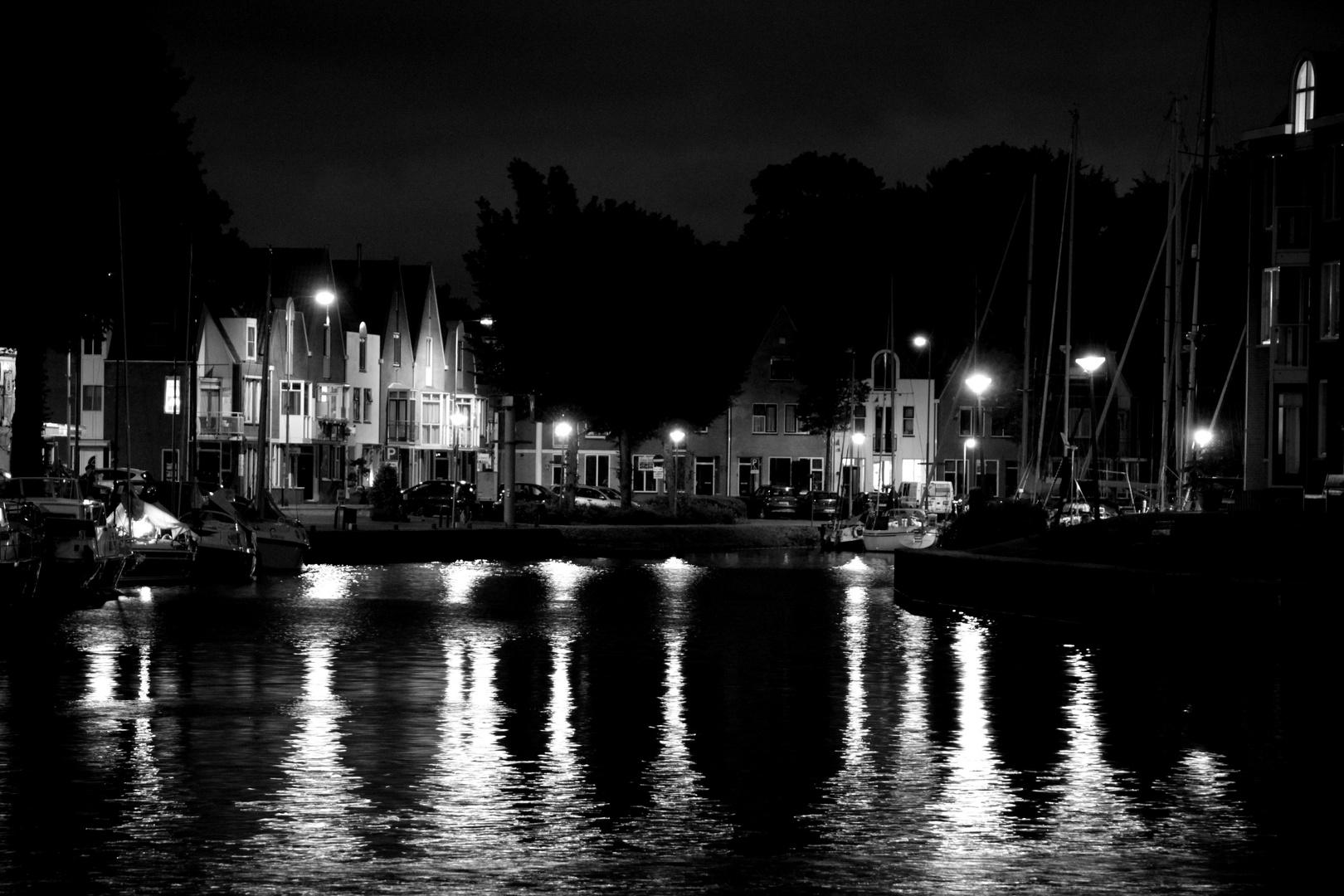einsamer Hafen
