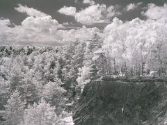 einsamer Kletterer