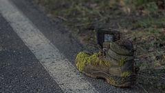 einsamer Schuh sucht passendes Gegenstück
