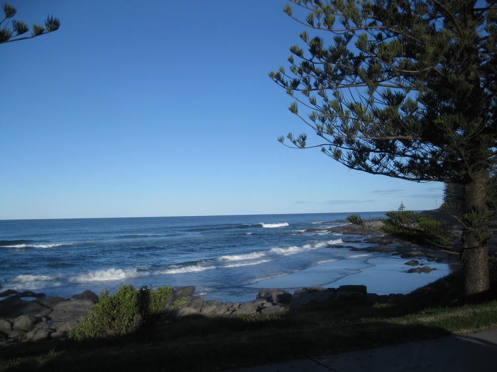 Einsamer Strand Nähe Bateman´s Bay, N.S.W.
