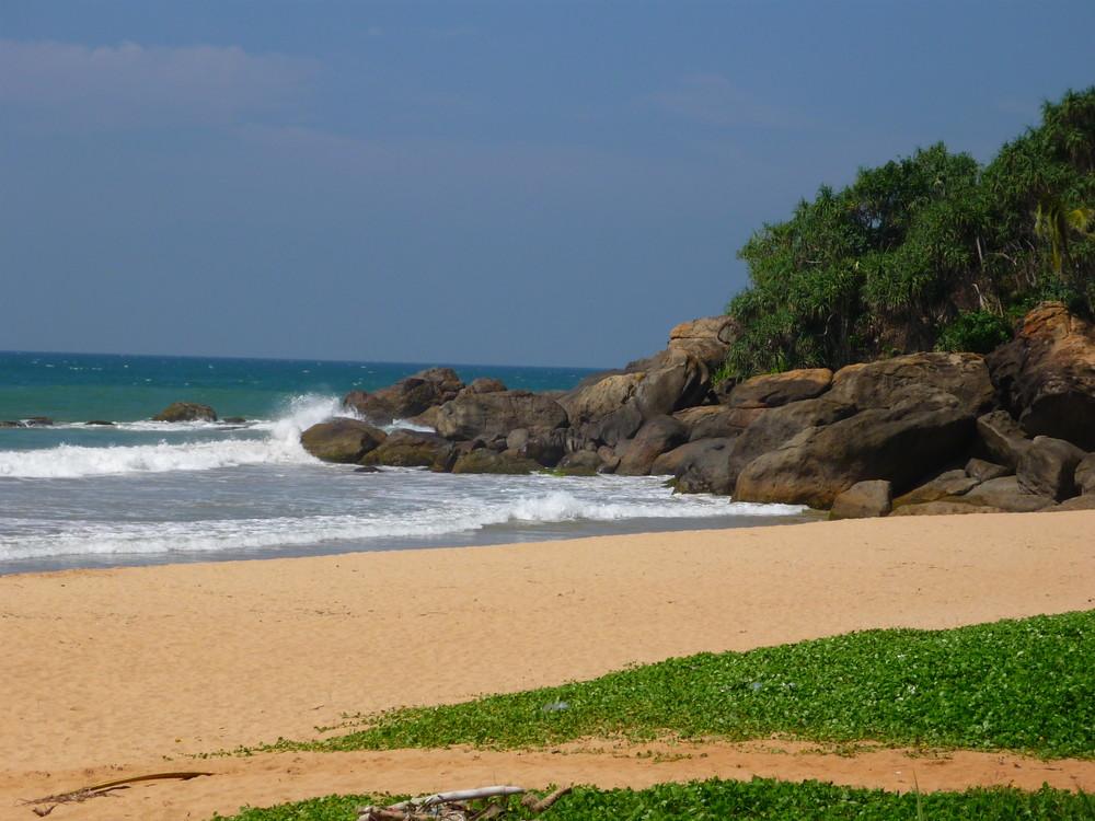 Einsamer Strand Sri Lanka