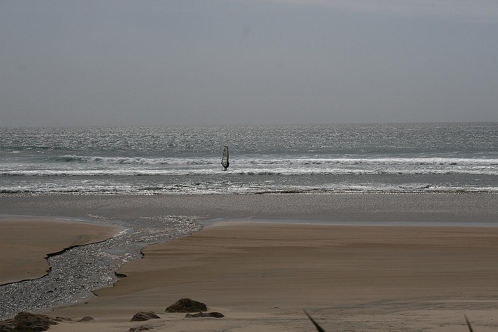 Einsamer Surfer