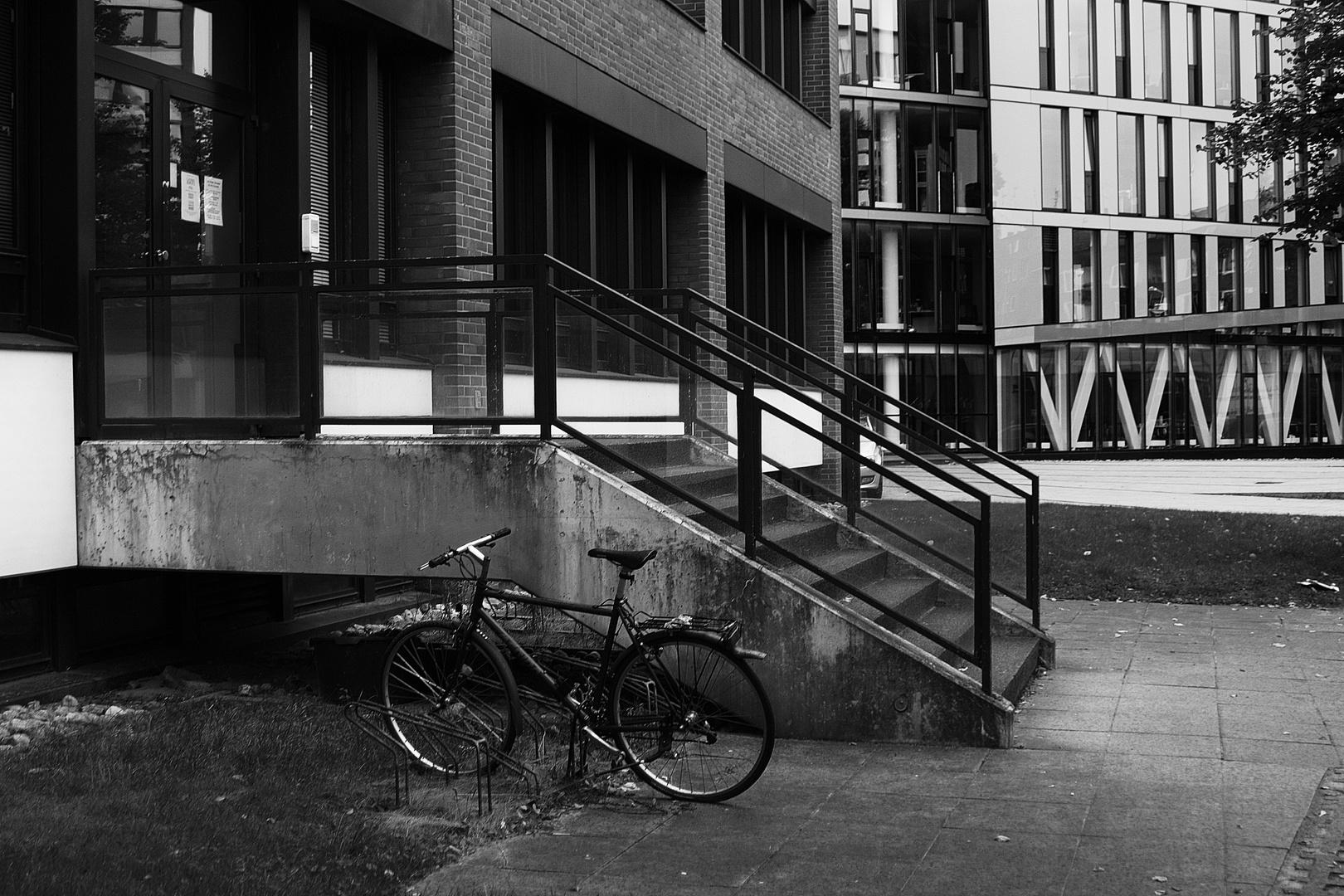 Einsames Fahrrad