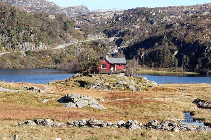 einsames ferienhaus in norwegen foto bild europe. Black Bedroom Furniture Sets. Home Design Ideas