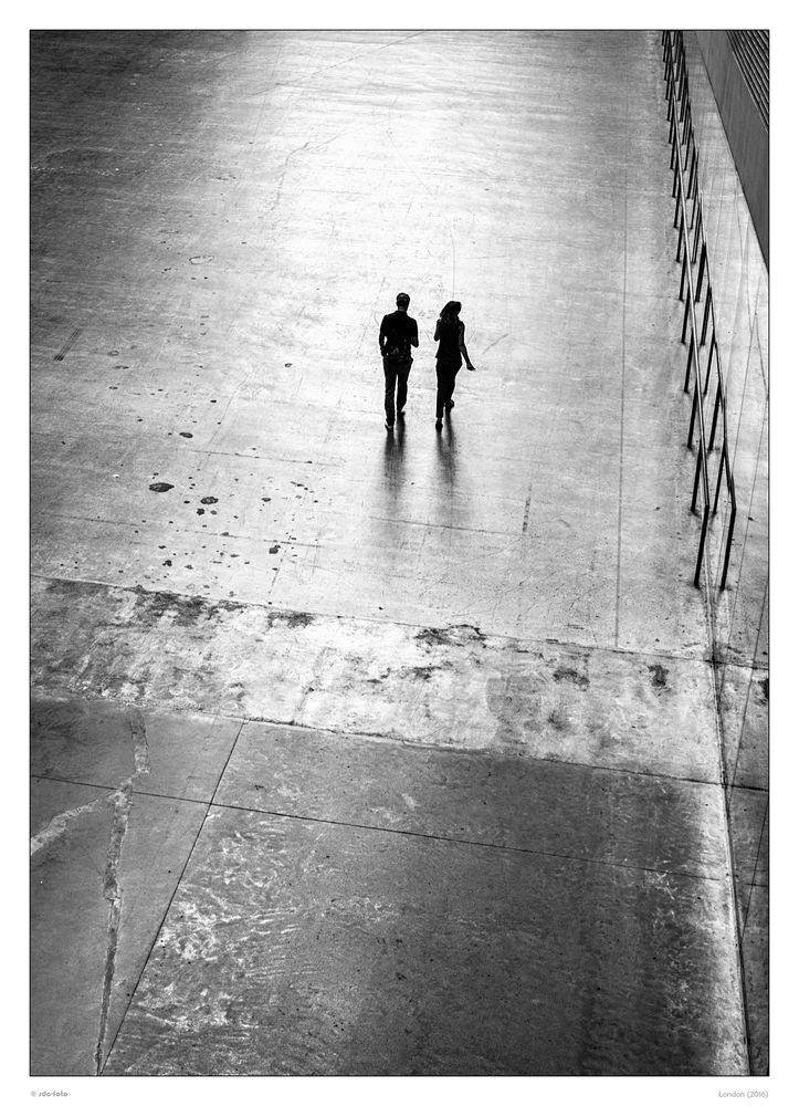 Einsames Paar