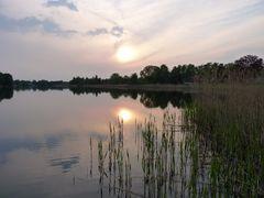 Einsamkeit am See