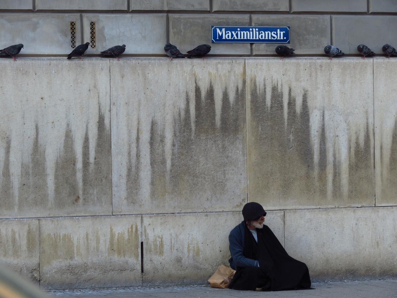 Einsamkeit in der Maximilianstr.              München 2013