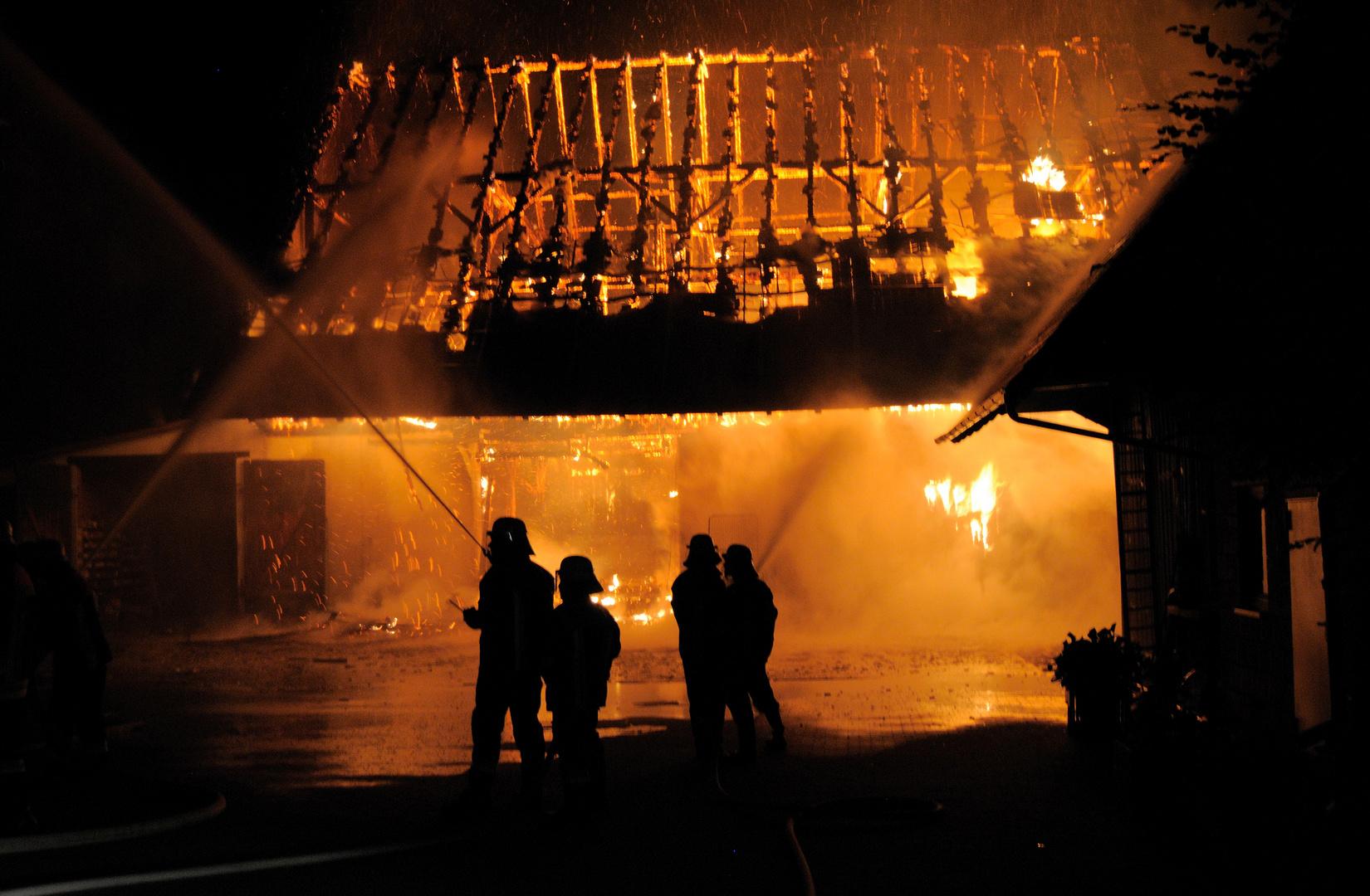 Einsatz Scheunenbrand 2 07.07.2012