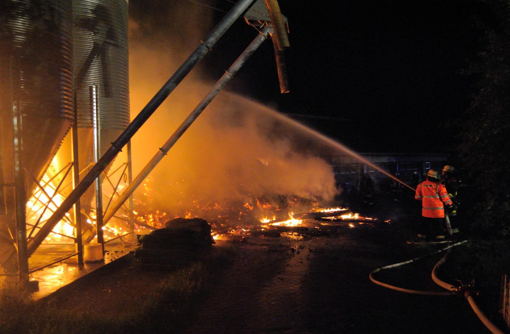 Einsatz Scheunenbrand 2 14.07.2012