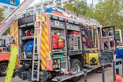 Einsatzfahrzeug der Feuerwehr (2)
