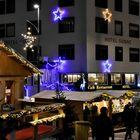Einsiedeln am Weihnachtsmarkt