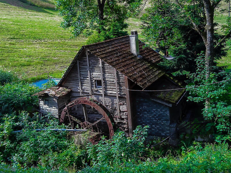 einst klapperte die Mühle..