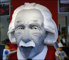 Einstein ...in LEGO