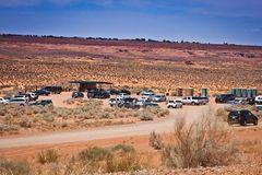 Einstieg zum Lower Antelope Canyon