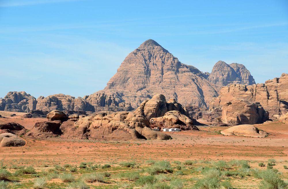 Einzigartiges Wadi Rum im Süden Jordaniens