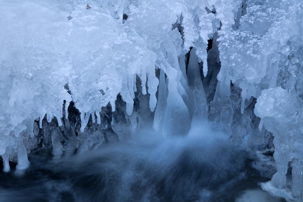 Eis am Elbesbach