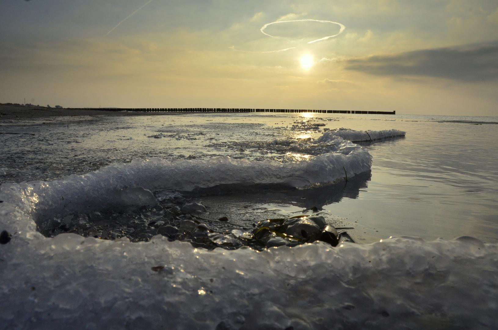 Ostsee Eis