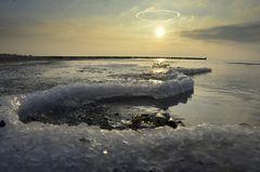 Eis an an der Ostsee