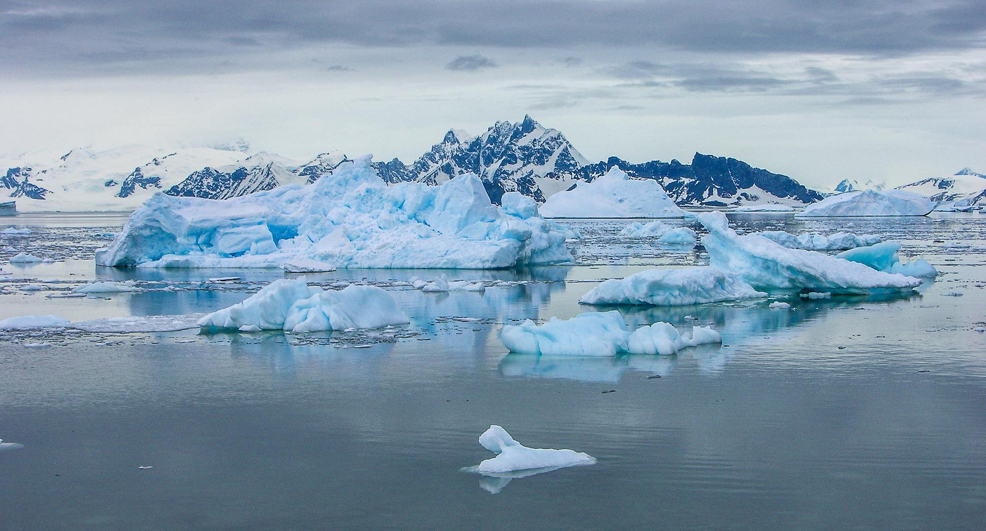 Eis - Berge