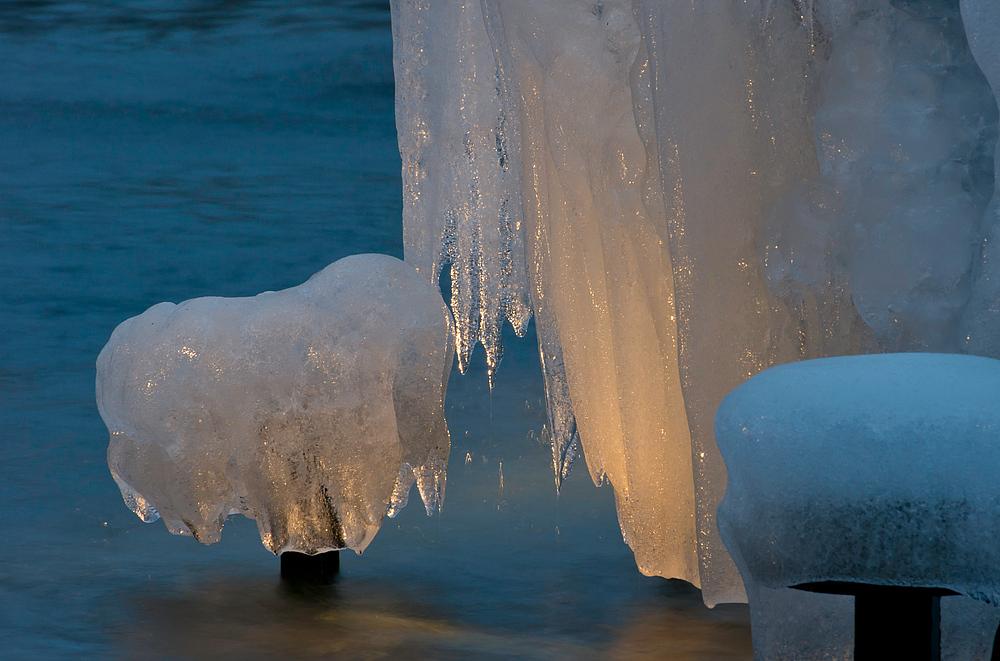 Eis im Licht