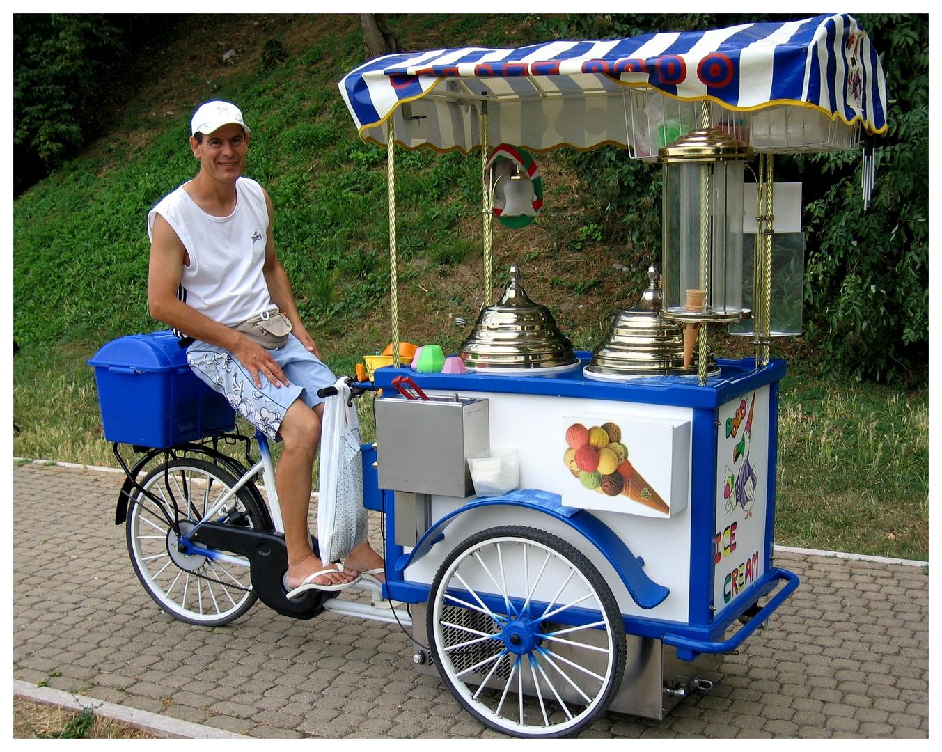 Eis, leckeres Eis - Sommerurlaub 2010