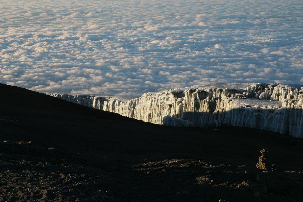 Eis über den Wolken