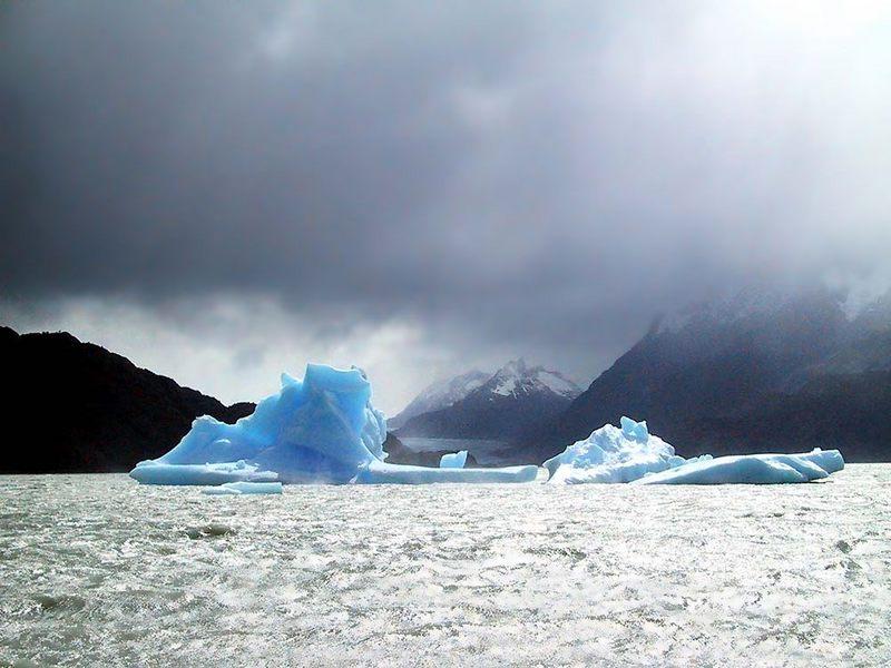 Eis und Sturm