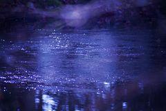 Eis-Wasser-Farben-Spielerei
