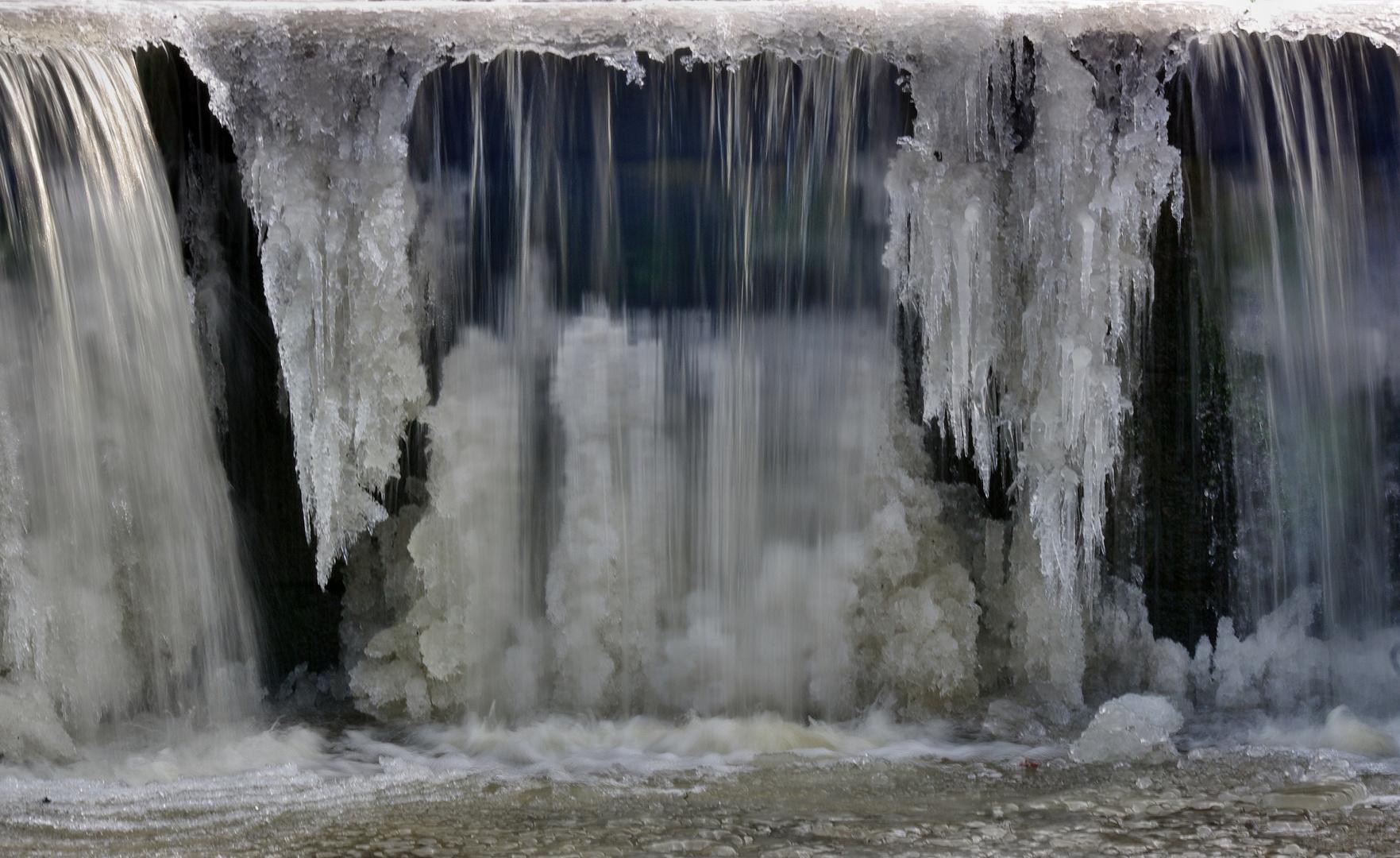(Eis)-Wasserfall