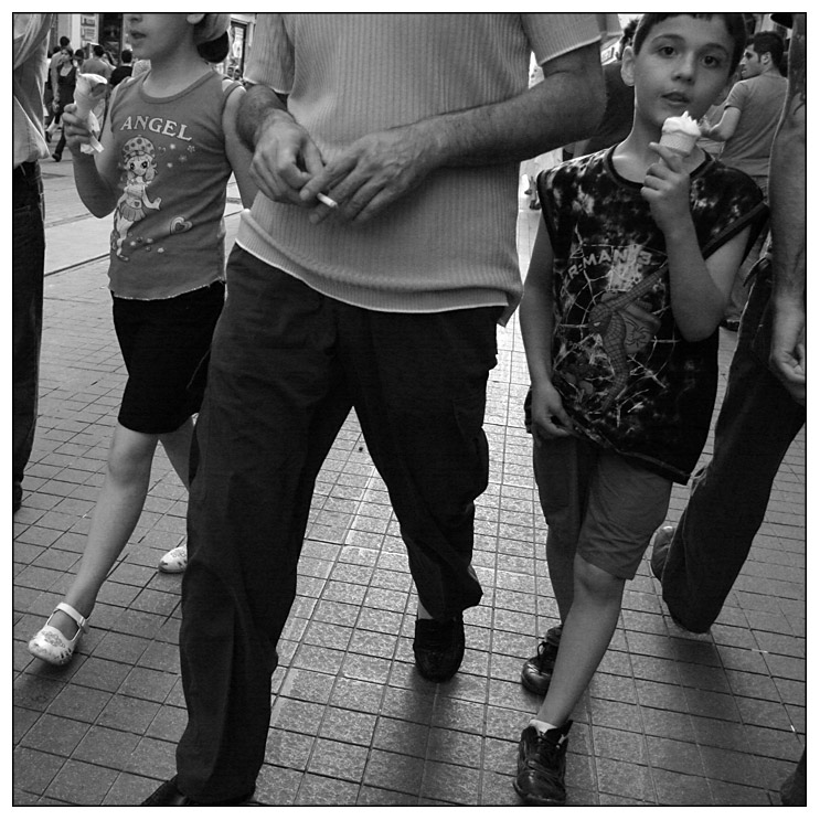 Eis - Zigarette - Eis