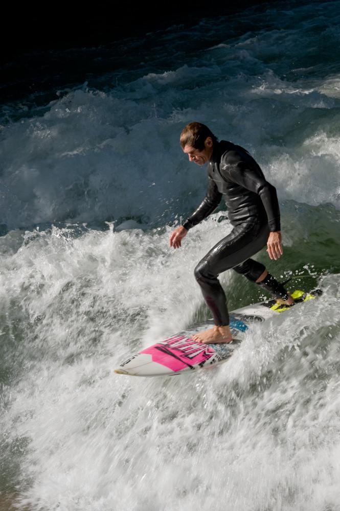 Eisbach-Surfer