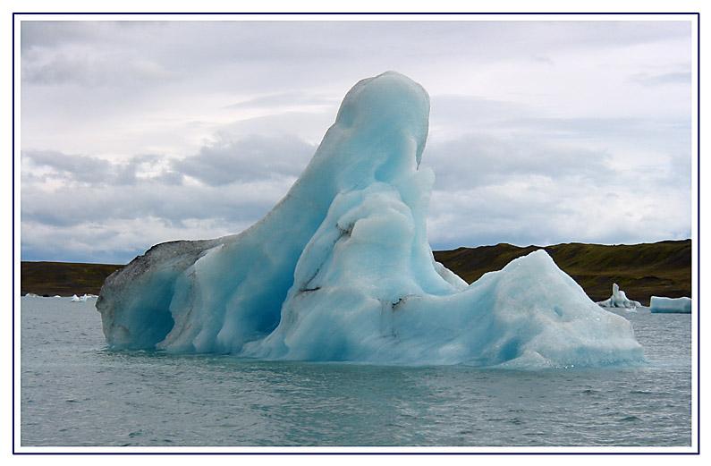 Eisberg auf dem Jökulsarlon