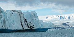 Eisberg auf der Gletscherlagune Jökulsárlón (Vatnajökull)
