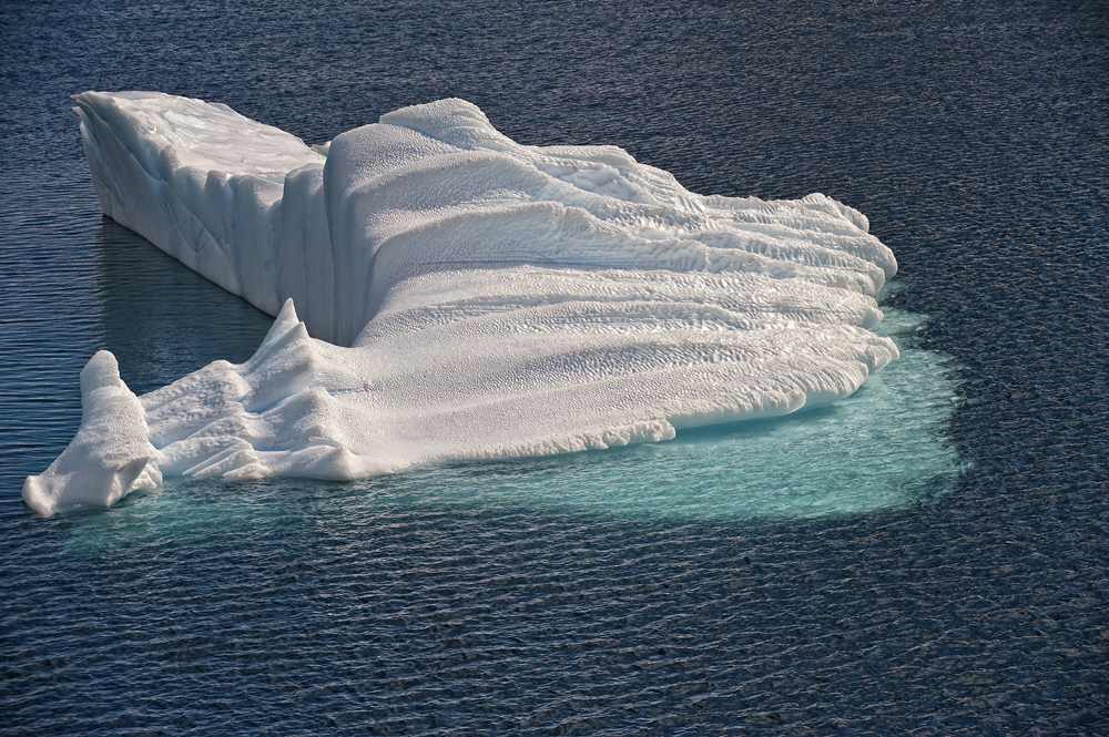 Eisberg Backbord