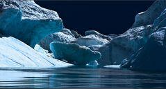 eisberg - ganz nah