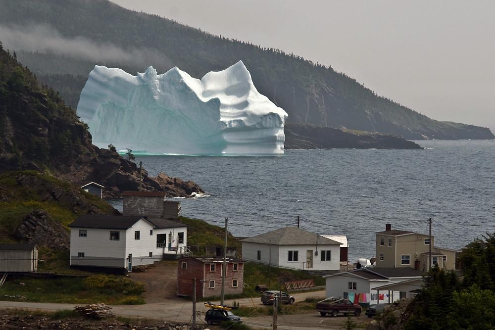 Eisberg in der nähe von Trinity