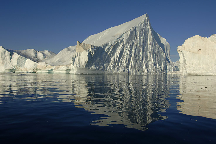Eisberg in voller Grösse