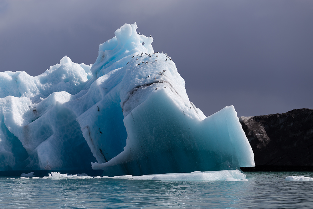 Eisberg mit ...