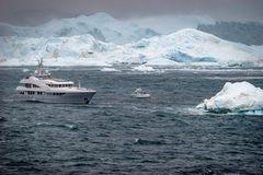 Eisberge bei Iliusat