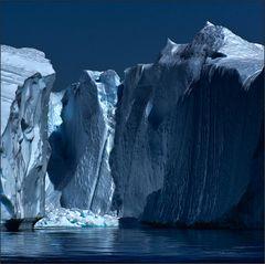 eisberge bersten, schmelzen . . .
