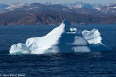 Eisberge vor dem Prins-Christian-Sund
