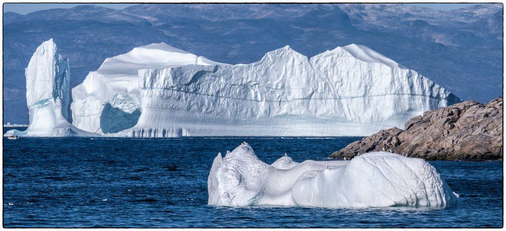 Eisbergpanorama