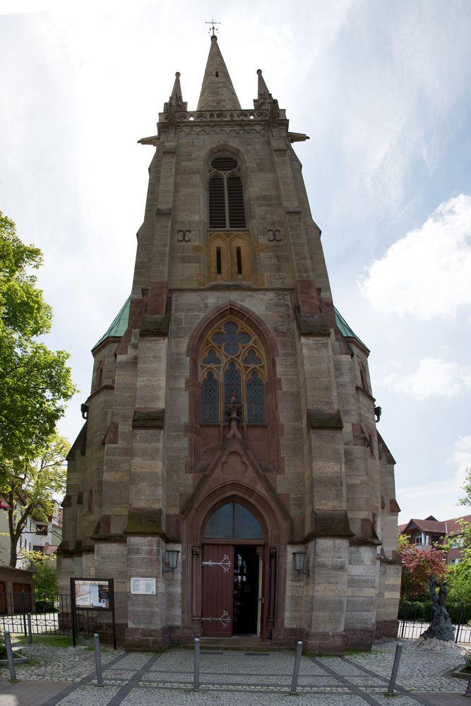 Eisenach - kath. Kirche St. Elisabeth