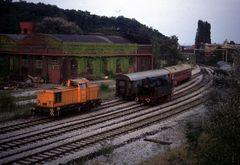 Eisenbahn auf Zollverein