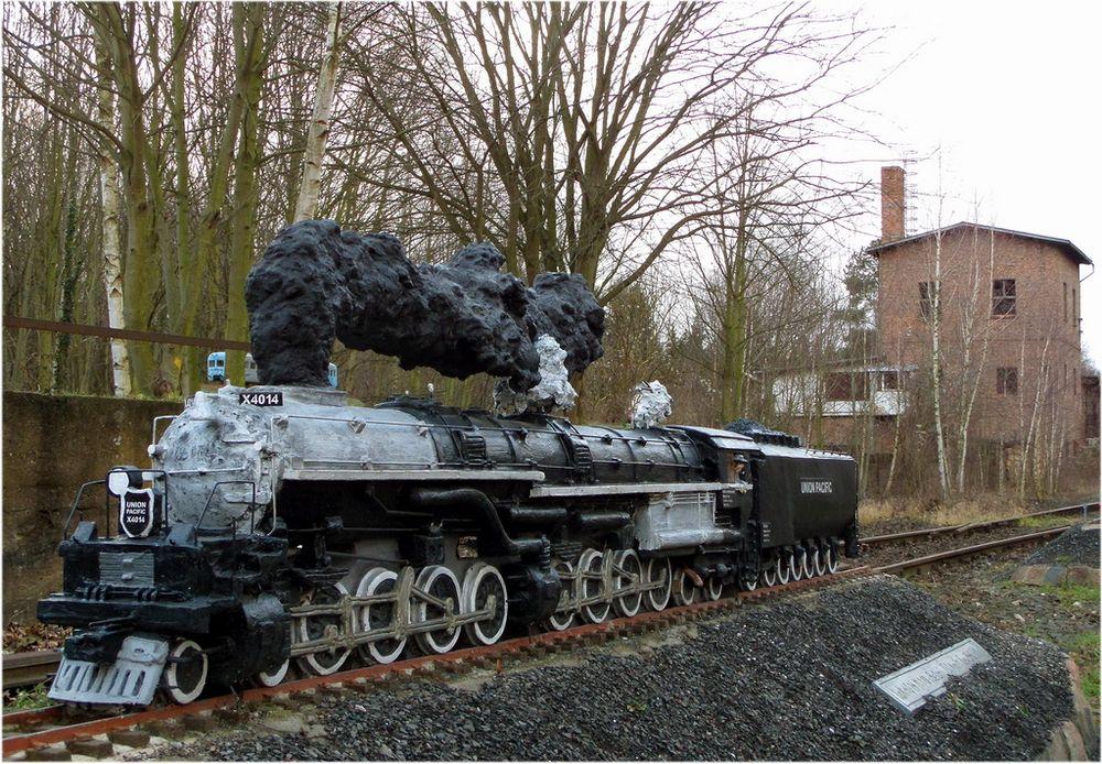 Eisenbahn aus Beton - Bild3