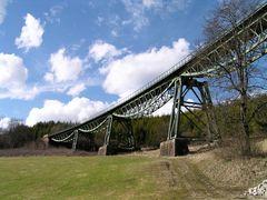 Eisenbahnbrücke bei Blumberg / Südschwarzwald