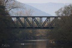Eisenbahnbrücke der ....