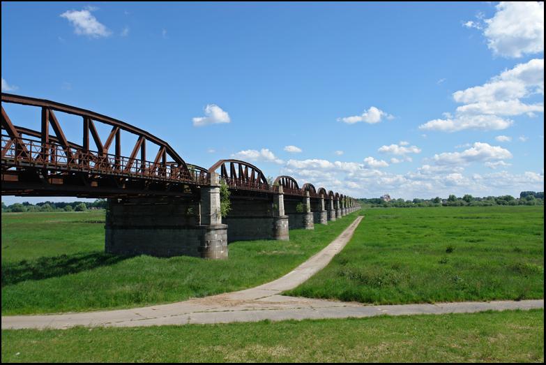 Eisenbahnbrücke Dömitz